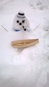 Even the snowmen are looking forward to boating season!